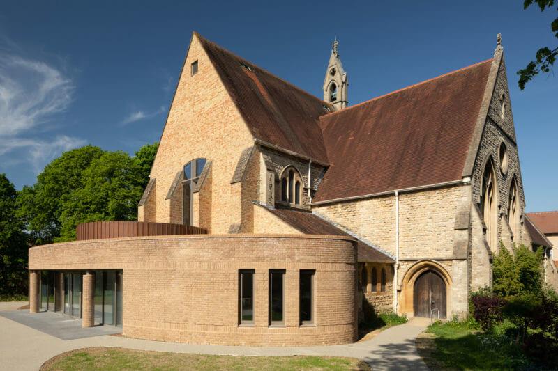 extensión de una iglesia Oxford