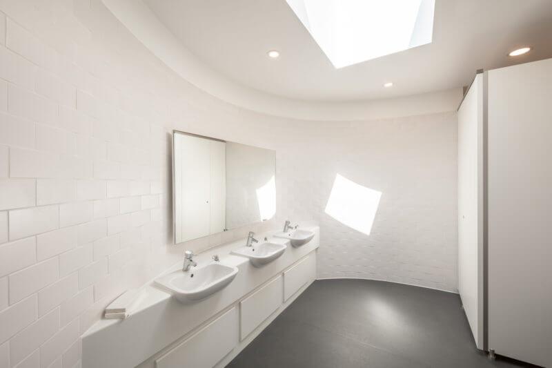 El techo de cristal Flushglaze